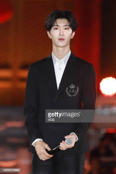 Singer Fan Chengcheng brother of actress Fan Bingbing attends the opening ceremony of the 4th Annual International Jackie Chan Action Movie Week at...