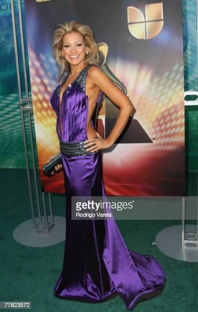 Singer Fanny Lu arrives at the 8th Annual Latin GRAMMY Awards at Mandalay Bay on November 8, 2007 in Las Vegas, Nevada.