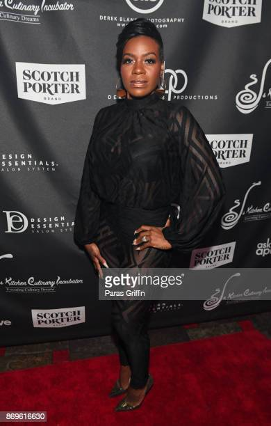 Singer Fantasia at Casino Royale Derek Blanks 40th Birthday Bash Production Company Launch at Havana Club on November 2 2017 in Atlanta Georgia