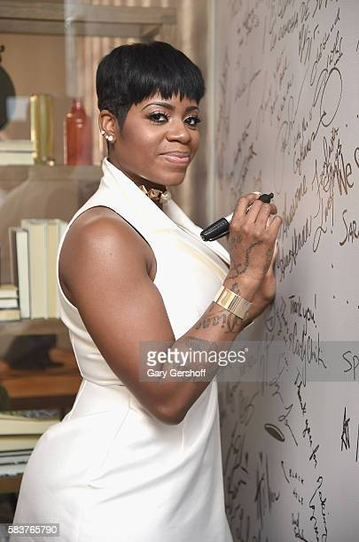 Singer Fantasia attends AOL Build Presents to discuss her new album The Definition Of at AOL HQ on July 27 2016 in New York City