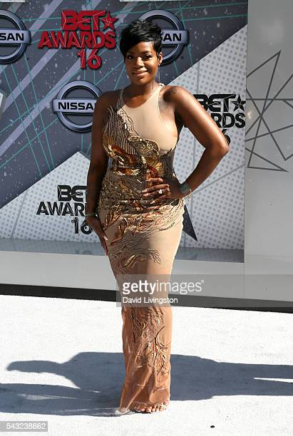 Singer Fantasia Barrino attends the 2016 BET Awards at Microsoft Theater on June 26 2016 in Los Angeles California