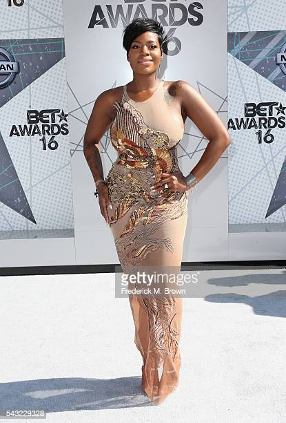 Singer Fantasia Barrino attends the 2016 BET Awards at the Microsoft Theater on June 26 2016 in Los Angeles California