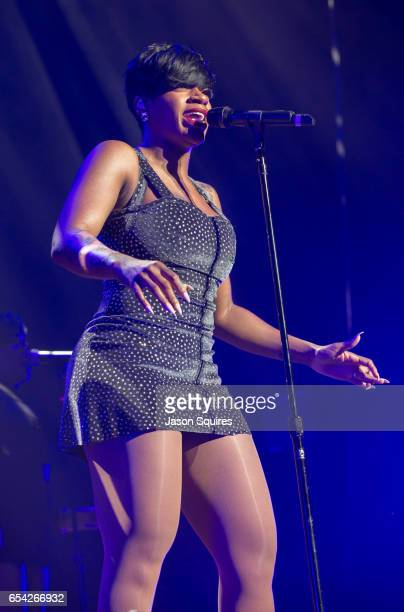 Singer Fantasia performs at Sprint Center on March 16 2017 in Kansas City Missouri