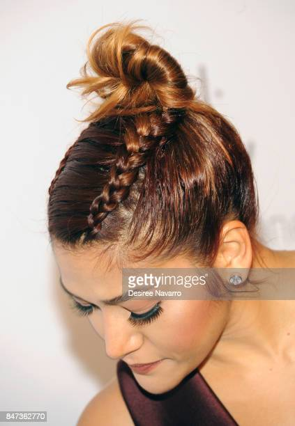 Singer Farina Pa hair detail attends Rihanna's 3rd Annual Diamond Ball at Cipriani Wall Street on September 14 2017 in New York City