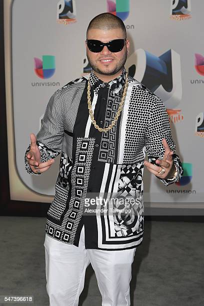Singer Farruko attends the Univision's 13th Edition Of Premios Juventud Youth Awards at Bank United Center on July 14 2016 in Miami Florida