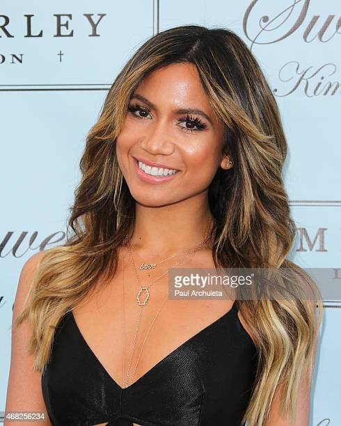 Singer / Fashion Blogger Jessi Malay attends the launch party of Swimsuit Designer Kimberley Garner at The London on March 31 2015 in West Hollywood...