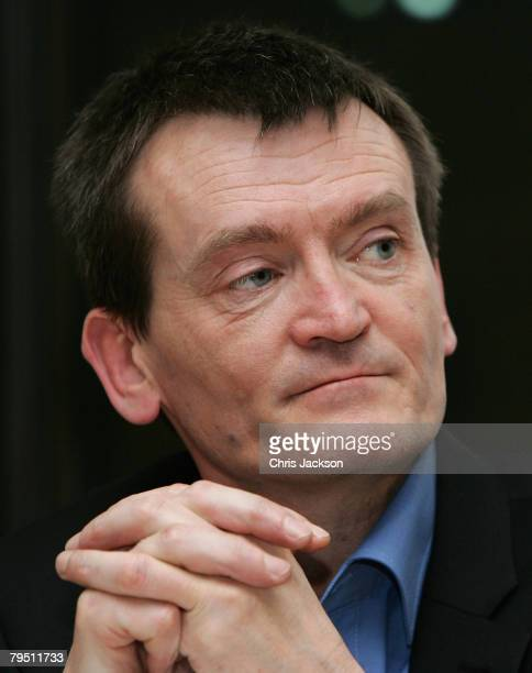 Singer Feargal Sharkey takes part in the 'Make Your Mark in the Music Industry' press conference hosted by MP David Lammy at Portcullis House on...