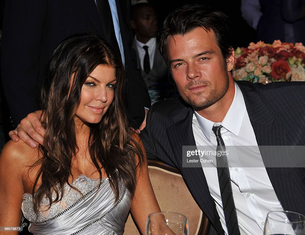 Singer Fergie and actor Josh Duhamel during the 52nd Annual GRAMMY Awards - Salute To Icons Honoring Doug Morris held at The Beverly Hilton Hotel on January 30, 2010 in Beverly Hills, California.
