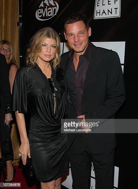 Singer Fergie and actor Justin Chambers arrive to the 40th Anniversary Celebration of Wilhelmina Models The Angel Orensanz Foundation in New York...