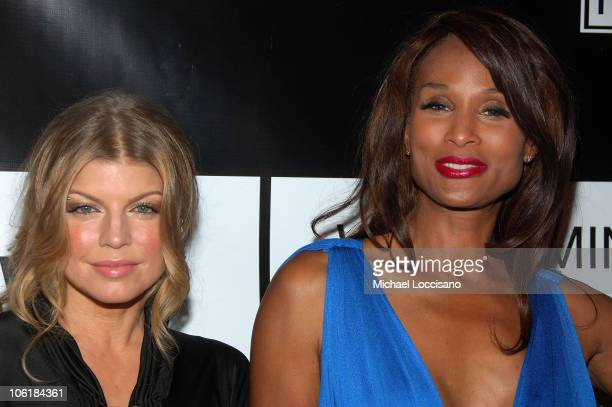 Singer Fergie and model Beverly Johnson arrive to the 40th Anniversary Celebration of Wilhelmina Models The Angel Orensanz Foundation in New York...