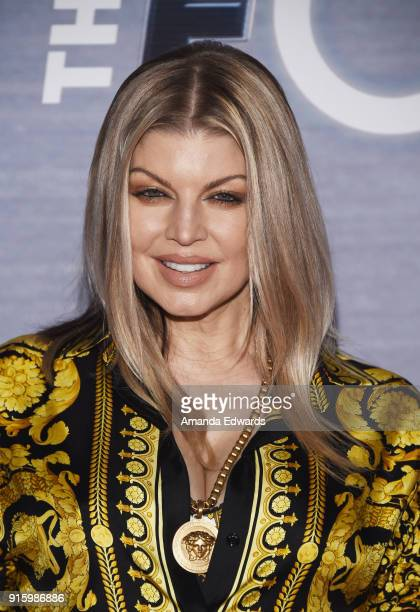 Singer Fergie arrives at FOX's 'The Four Battle For Stardom' Season Finale Viewing Party at Delilah on February 8 2018 in West Hollywood California