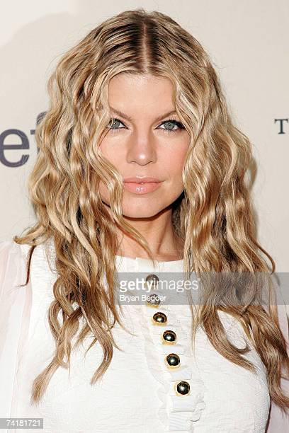 Singer Fergie arrives at the 2007 Cipriani Wall Street Concert Series on May 17, 2007 in New York City.