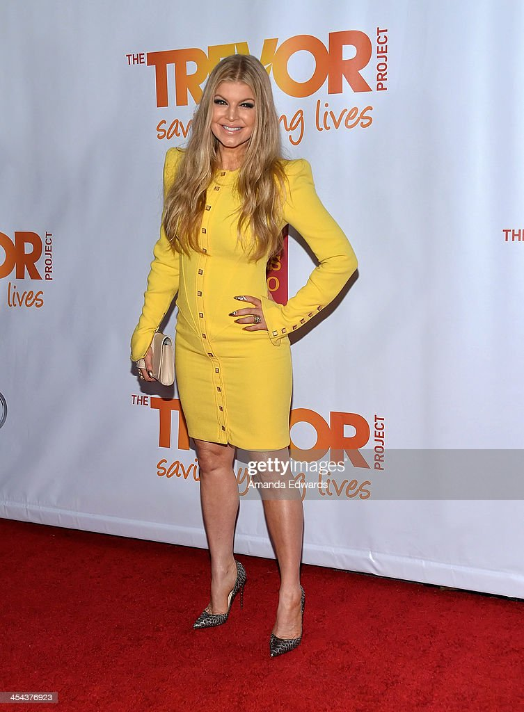Singer Fergie arrives at the TrevorLIVE Los Angeles Benefit celebrating the Trevor Project's 15th anniversary at the Hollywood Palladium on December 8, 2013 in Hollywood, California.