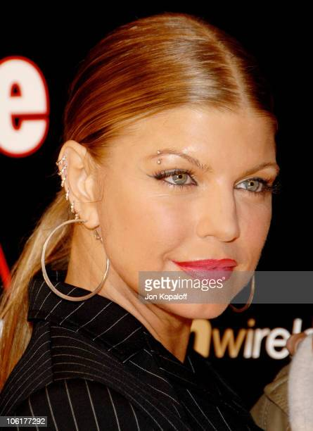 Singer Fergie arrives to the Verizon Wireless People Magazine's PreGrammy Party at Avalon Hollywood on February 8 2008 in Hollywood California