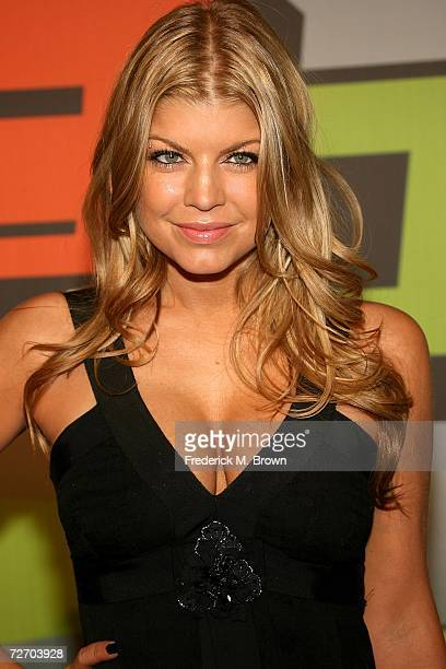 Singer Fergie arrives to the VH1 Big in '06 Awards held at Sony Studios on December 2 2006 in Culver City California