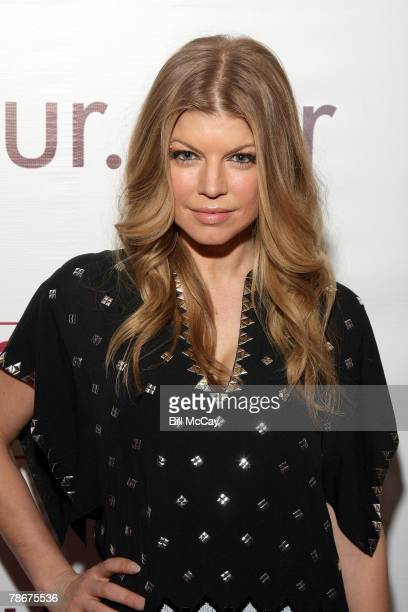 Singer Fergie attends her Concert After Party at mur.mur Nightclub at the Borgata Hotel Casino December 29, 2007 in Atlantic City, New Jersey United...