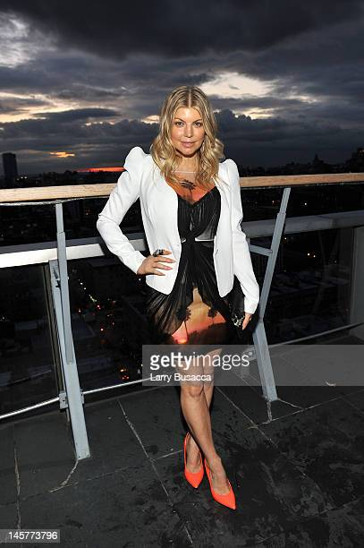Singer Fergie attends SELF Magazine's July Issue Event with Cover Star Fergie at The Hotel on Rivington Penthouse on June 5 2012 in New York City