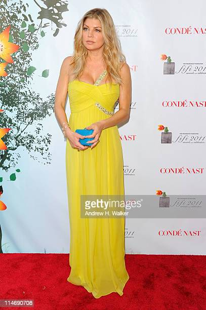 Singer Fergie attends the 2011 FiFi Awards at The Tent at Lincoln Center on May 25 2011 in New York City