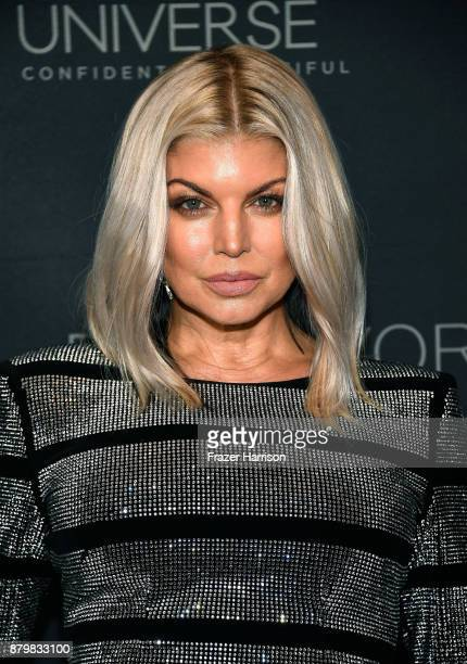 Singer Fergie attends the 2017 Miss Universe Pageant at Planet Hollywood Resort Casino on November 26 2017 in Las Vegas Nevada