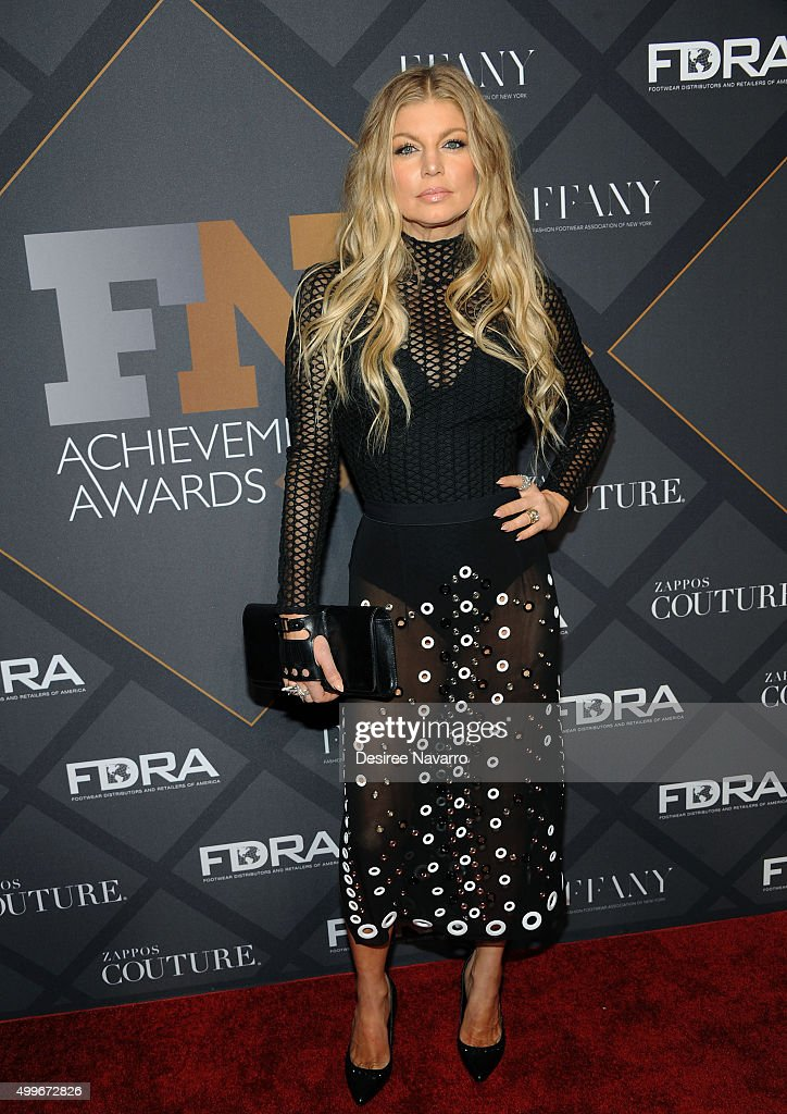 Singer Fergie attends the 29th FN Achievement Awards at IAC Headquarters on December 2, 2015 in New York City.