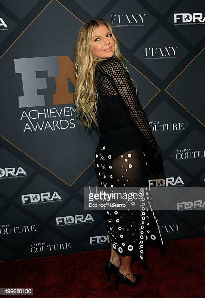 Singer Fergie attends the 29th FN Achievement Awards at IAC Headquarters on December 2 2015 in New York City