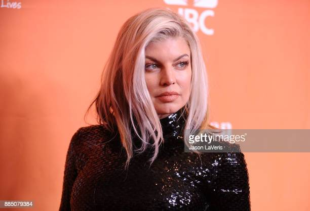 Singer Fergie attends The Trevor Project's 2017 TrevorLIVE LA at The Beverly Hilton Hotel on December 3 2017 in Beverly Hills California