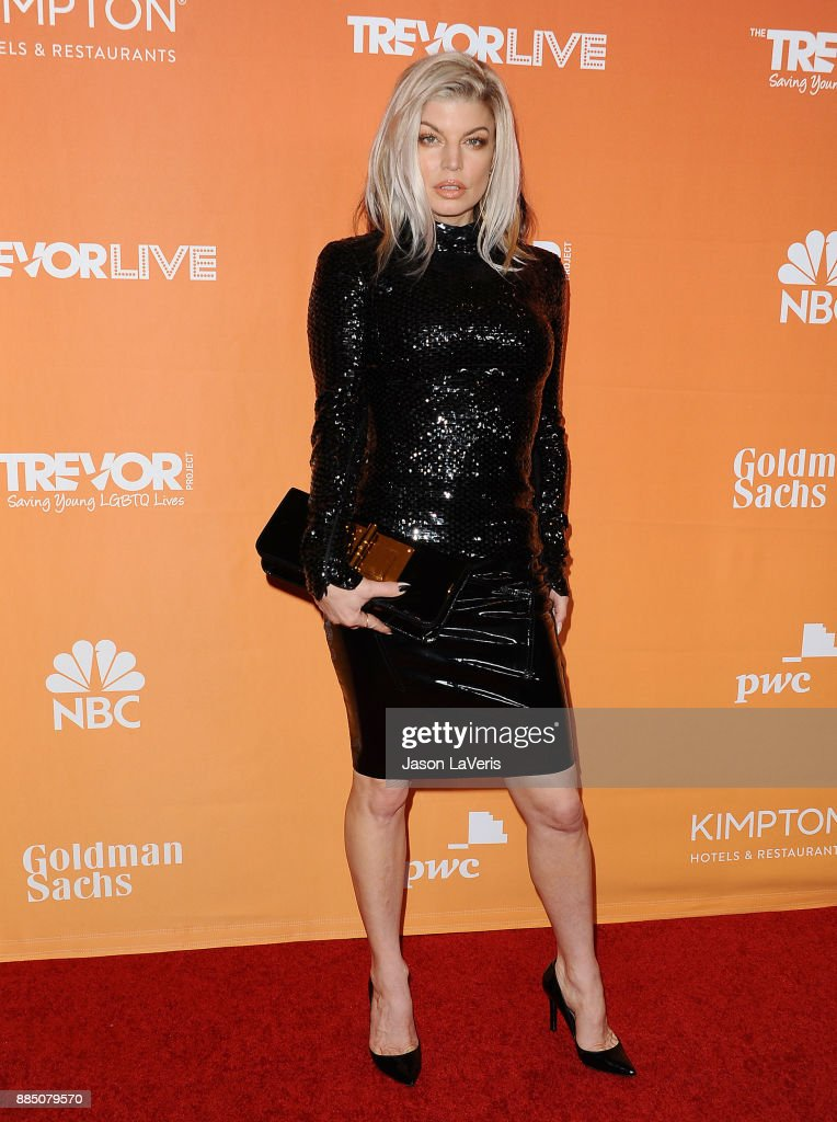 Singer Fergie attends The Trevor Project's 2017 TrevorLIVE LA at The Beverly Hilton Hotel on December 3, 2017 in Beverly Hills, California.