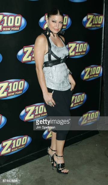 Singer Fergie of The Black Eyed Peas attends the Z100s Zootopia 2009 presented by IZOD Fragrance at Izod Center on May 16 2009 in East Rutherford New...