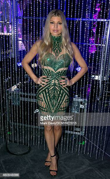 Singer Fergie performs at Dick Clark's New Year's Rockin' Eve With Ryan Seacrest 2015 at CBS Television City in Los Angeles California on December 31...