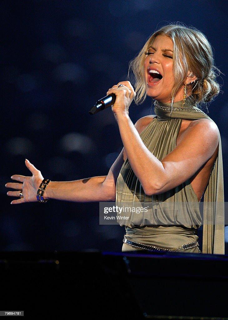 50th Annual Grammy Awards - Show : News Photo