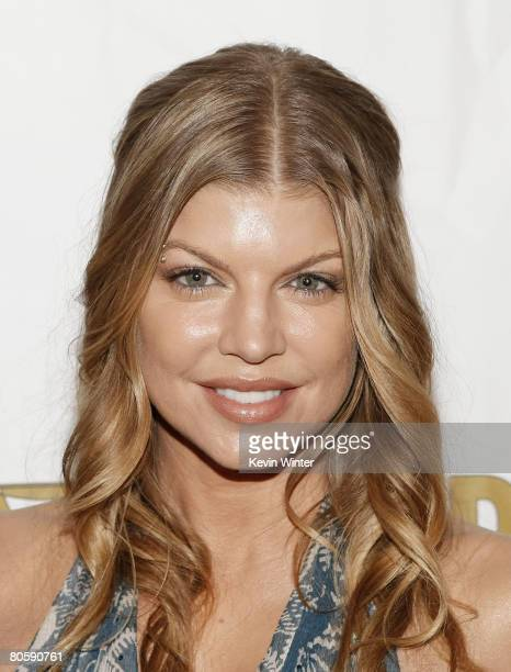 Singer Fergie receives special recognition at ASCAP's 25th Annual Pop Music Awards at the Kodak Theater on April 9 2008 in Los Angeles California