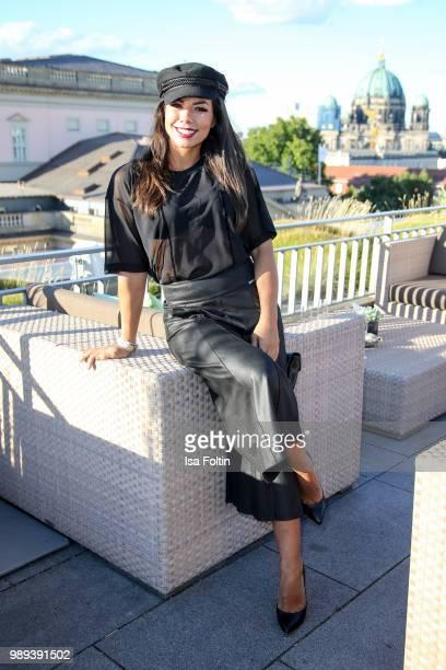 Singer Fernanda Brandao during the Ladies Dinner at Hotel De Rome on July 1 2018 in Berlin Germany