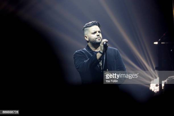 Singer Fernando Varela performs live on stage during the Royal Christmas Gala at Tempodrom on December 5 2017 in Berlin Germany
