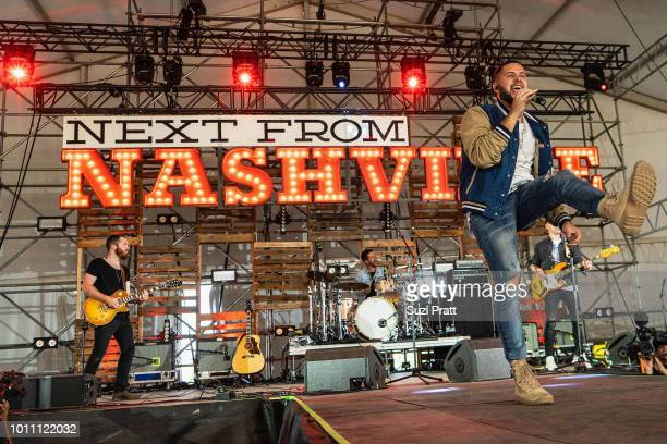 Singer Filmore performs at Watershed Festival at Gorge Amphitheatre on August 4 2018 in George Washington