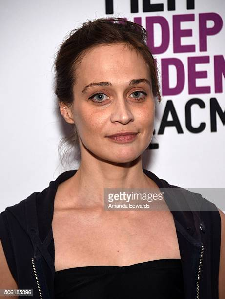 Singer Fiona Apple attends the Film Independent Live Read of Dr Strangelove with guest director Mark Romanek at the Bing Theatre at LACMA on January...