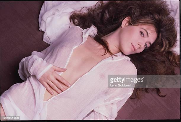 Singer Fiona Flanagan Lying Down