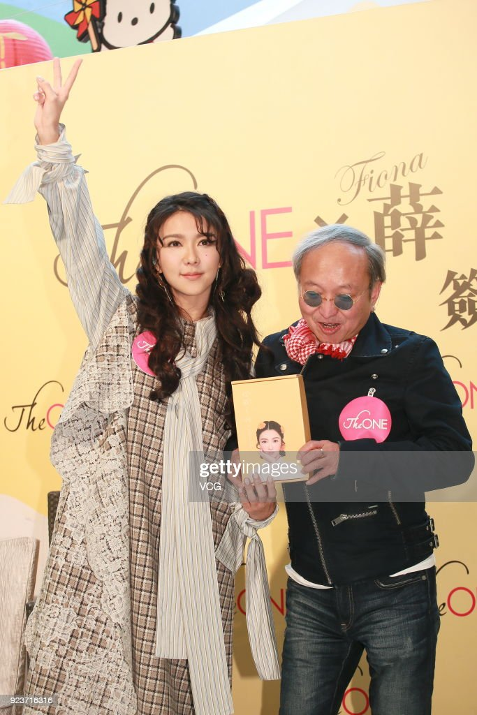 Fiona Sit Attends Autograph Signing Event In Hong Kong