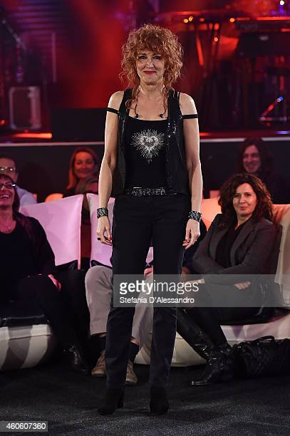 Singer Fiorella Mannoia attends RadioItaliaLive on December 17 2014 in Milan Italy