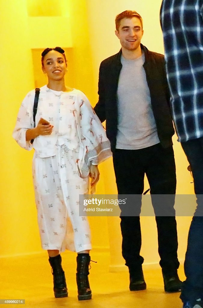 Surface Magazine Event With Hans Ulrich Obrist And FKA Twigs : News Photo