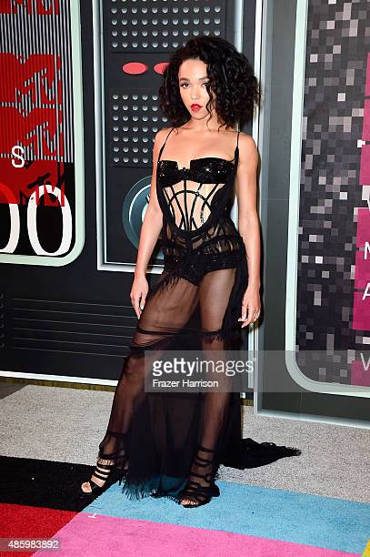 Singer FKA twigs attends the 2015 MTV Video Music Awards at Microsoft Theater on August 30 2015 in Los Angeles California