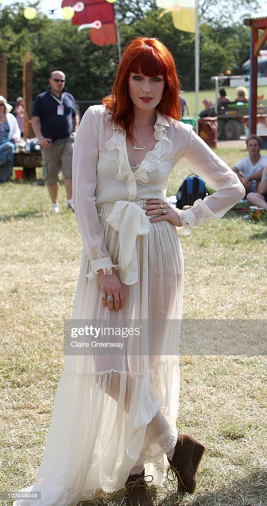 Glastonbury Music Festival: 40th Anniversary - Celebrities Day 2