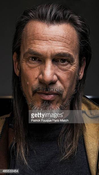 Singer Florent Pagny is photographed for Paris Match on November 5, 2013 in Paris, France.