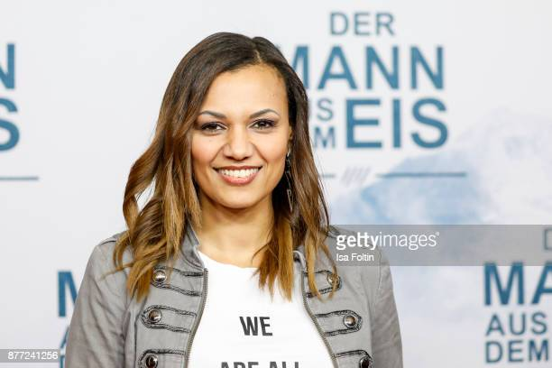 Singer Francisca Urio attends the premiere of 'Der Mann aus dem Eis' at Zoo Palast on November 21 2017 in Berlin Germany