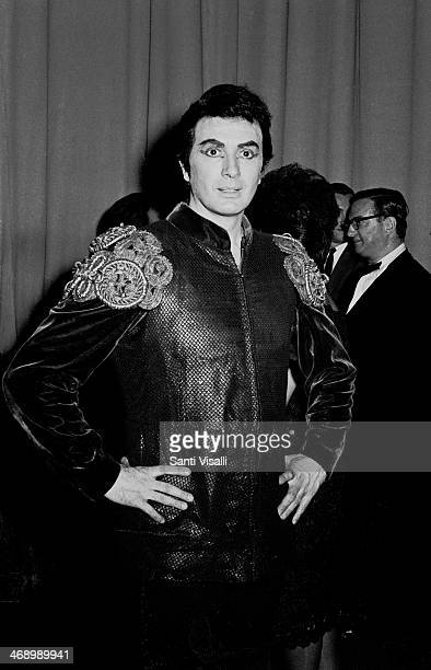 Singer Franco Corelli posing for a photo on September 15, 1965 in New York, New York.