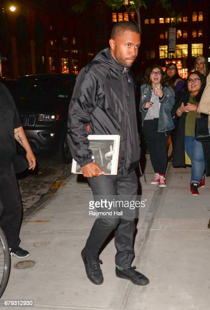 Singer Frank Ocean is seen walking in Soho on May 4 2017 in New York City