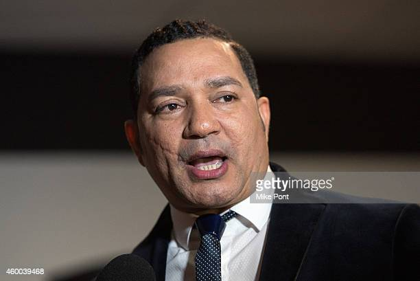 Singer Frank Reyes attends Amor A Nuestra Musica 2014 at the Nassau Coliseum on December 5 2014 in Uniondale New York
