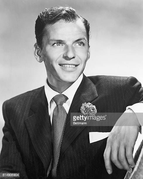 Singer Frank Sinatra in 1958 UPI photograph