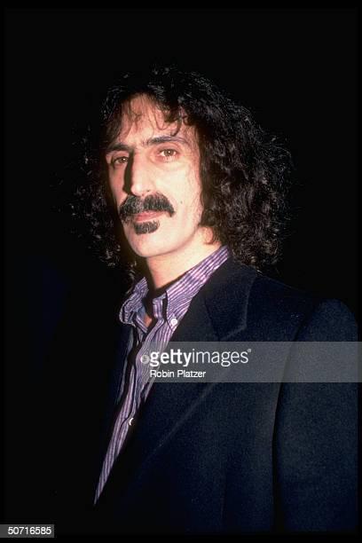 Singer Frank Zappa