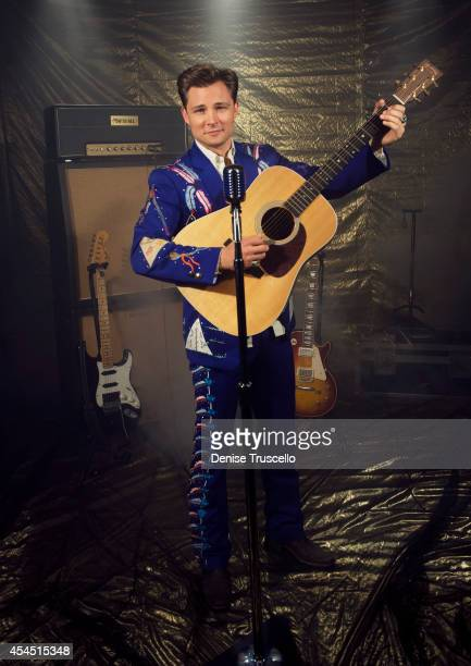Singer Frankie Ballard poses for a portrait at the Academy of Country Music Awards for People Magazine on April 6 2014 in Las Vegas Nevada