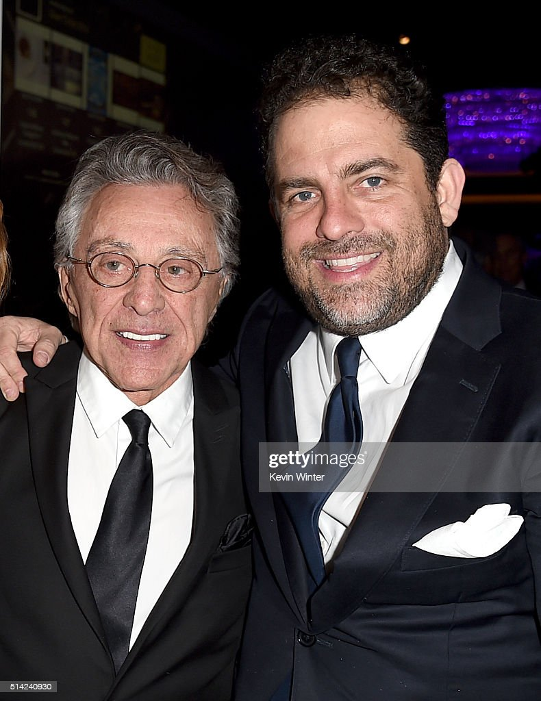 Singer Frankie Valli (L) and honoree Brett Ratner attend the Venice Family Clinic Silver Circle Gala 2016 honoring Brett Ratner and Bill Flumenbaum at The Beverly Hilton Hotel on March 7, 2016 in Beverly Hills, California.